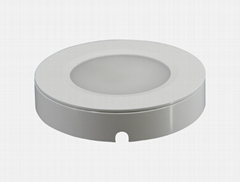 Round Surface Mounted Cabinet 12V 3W Lamp LED Exhibition Cabinet Light