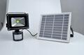 太陽能感應充電投光燈 4