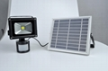 30W LED COB solar flood light with PIR sensor 4