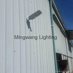 5W 8W LED 一體化太陽能庭院燈