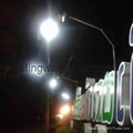 5W 8W LED 一體化太陽能庭院燈 2