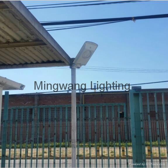 5W 8W LED 一體化太陽能庭院燈 3