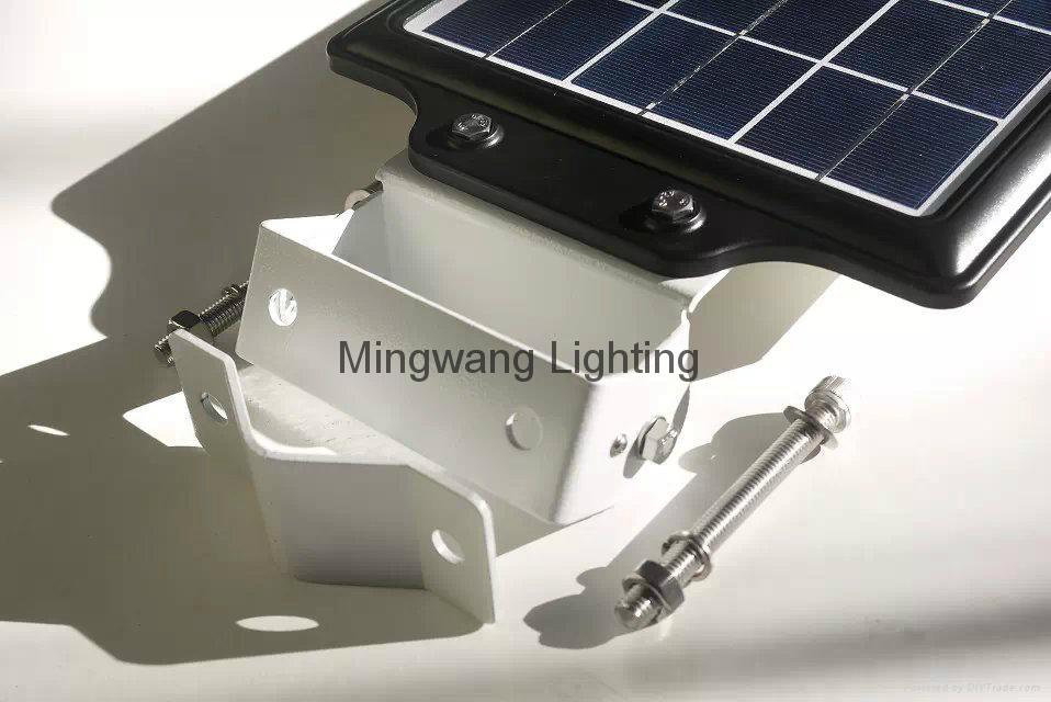 5W 8W LED 一體化太陽能庭院燈 4