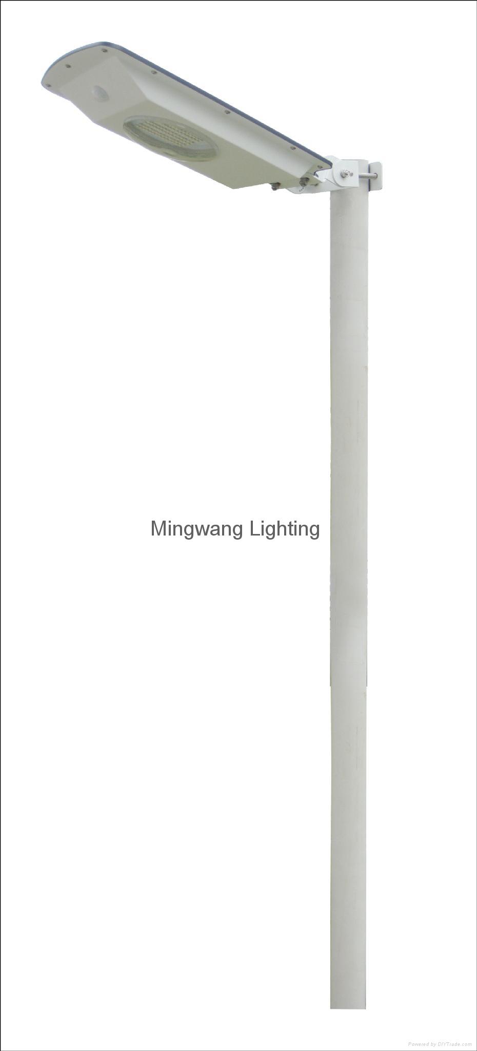 5W 8W LED 一體化太陽能庭院燈 5