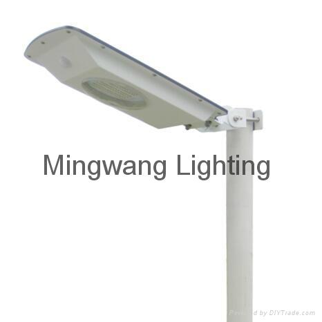 5W 8W LED 一體化太陽能庭院燈 10