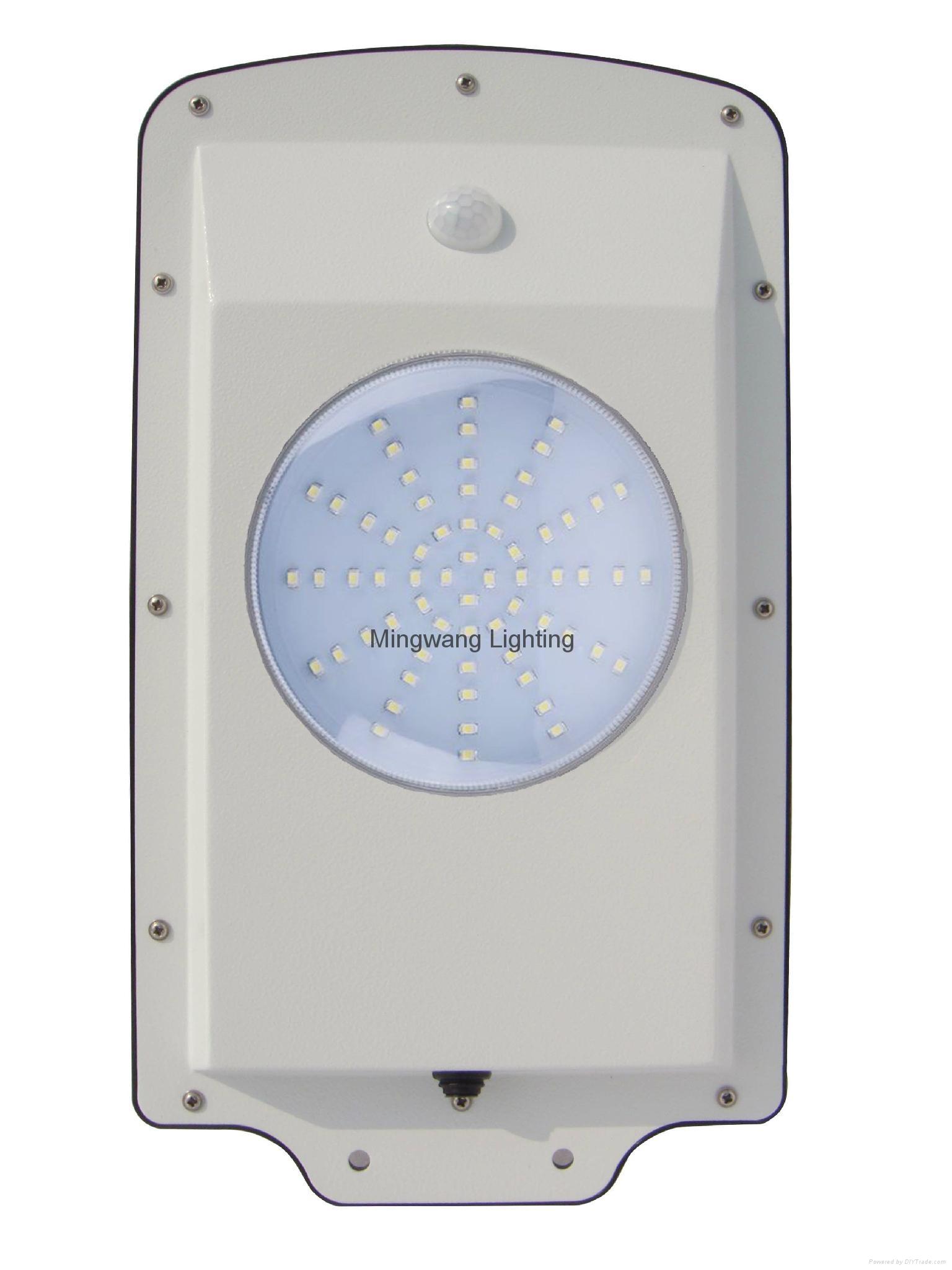 5W 8W LED 一體化太陽能庭院燈 11