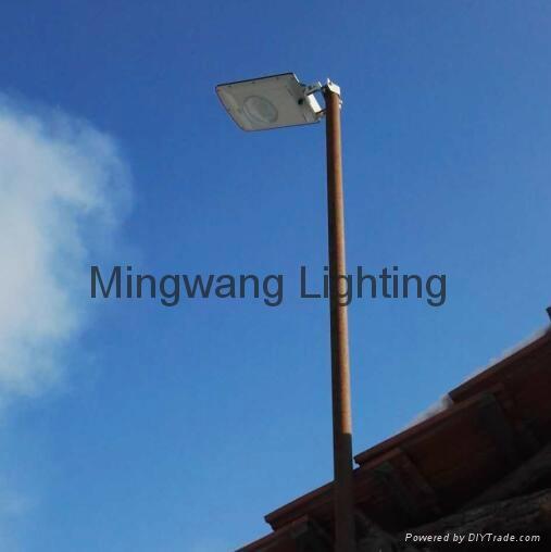 5W 8W LED 一體化太陽能庭院燈 12