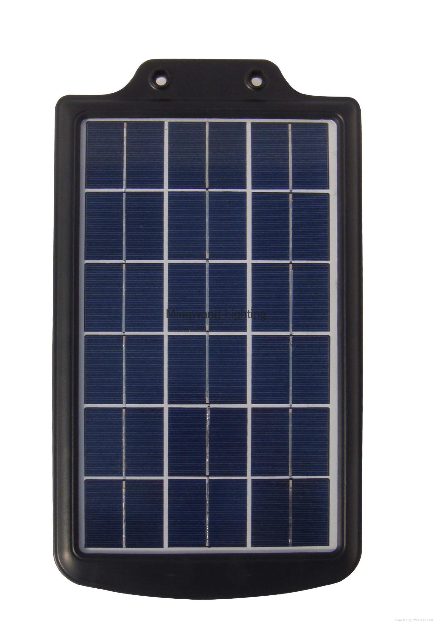 5W 8W LED 一体化太阳能庭院灯 13