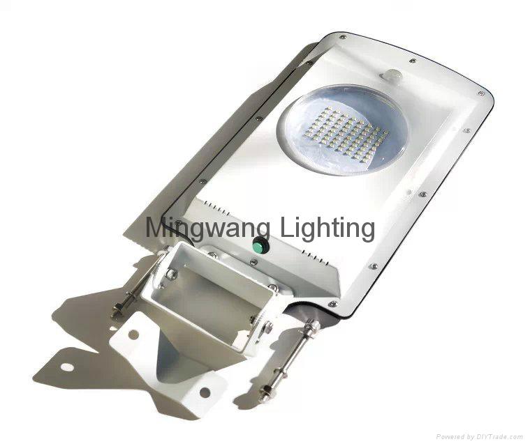 5W 8W LED 一體化太陽能庭院燈 15