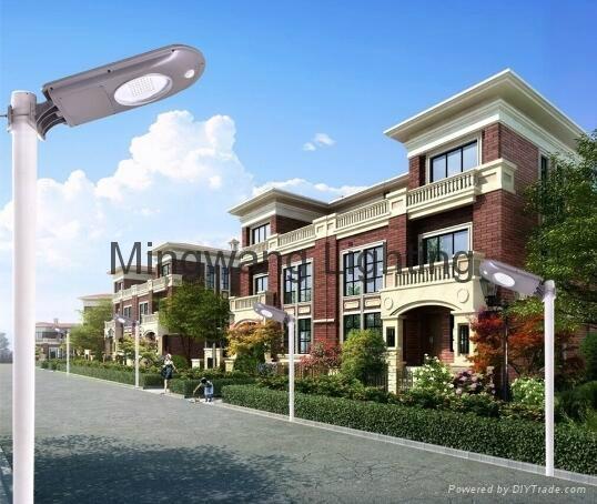 一體化太陽能庭院燈 12