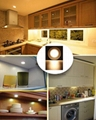 2017 New design hot sale kitchen cabinet LED light waterproof round aluminium ca
