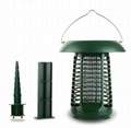 2019 Solar Insect Killer Mosquito Killer Lamp with uv attached bug zapper 4
