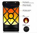 Solar Flame Lights Outdoor, Waterproof Flickering Flame Solar Lights 2