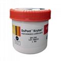 杜邦科慕 krytox 226FG全氟聚醚氟素润滑脂高温食品级高温白油1kg