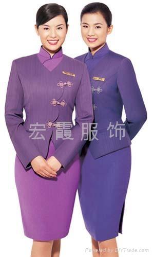 上海酒店宾馆制服定做 1
