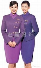 上海酒店賓館制服定做