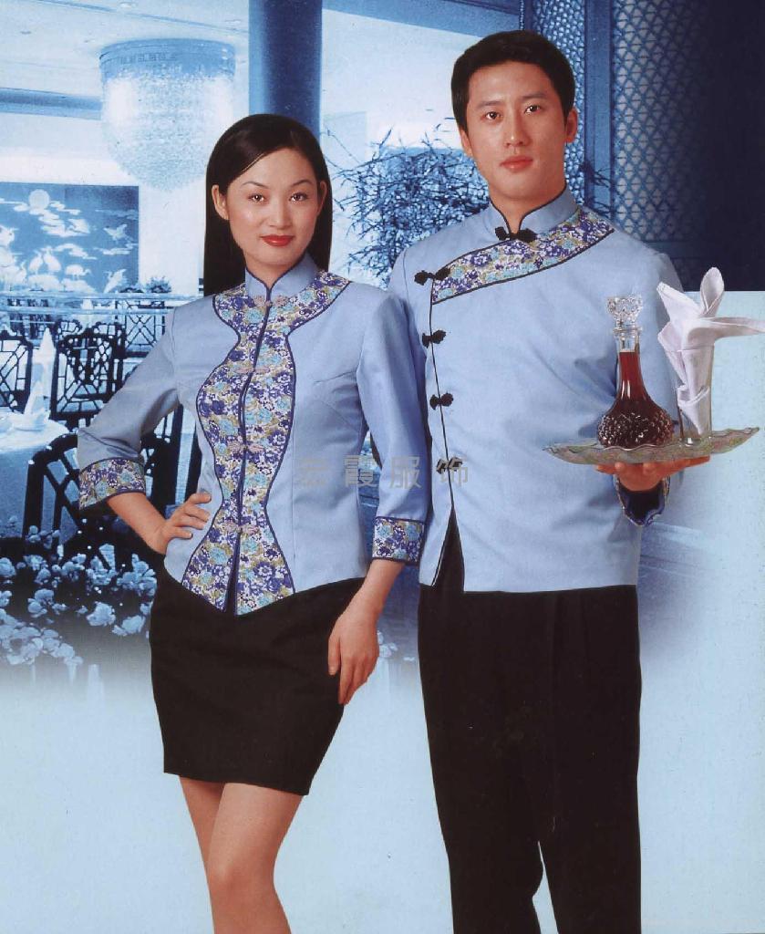 上海酒店宾馆制服定做 4