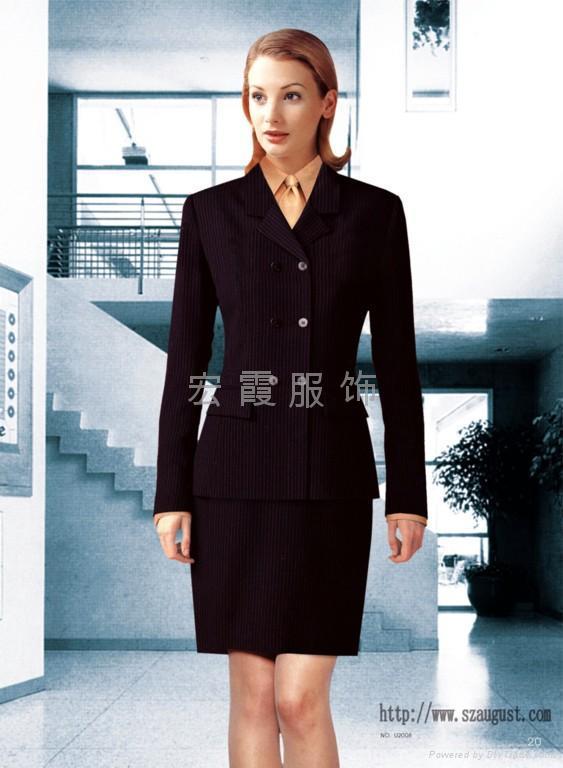 上海商务职业装西服 1
