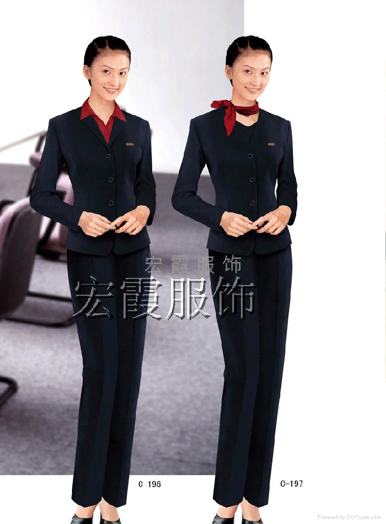 上海商务职业装西服 3