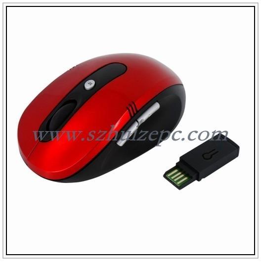 深圳鼠标工厂供应27MZH无线鼠标 1