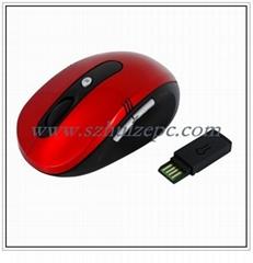 深圳鼠标工厂供应27MZH无线鼠标