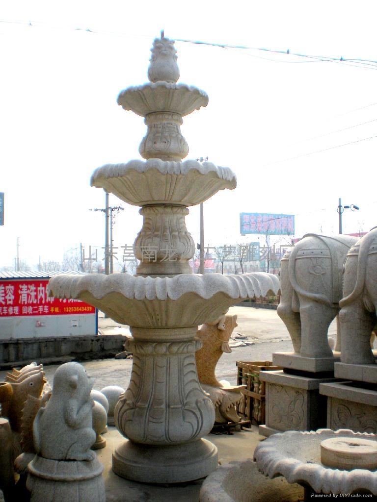 黃鏽石噴泉花缽 1