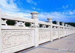 花崗岩石雕欄杆橋欄杆,石橋拱橋