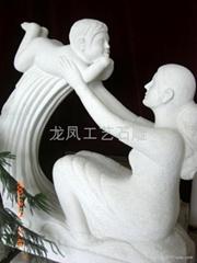 雕塑(母子情)
