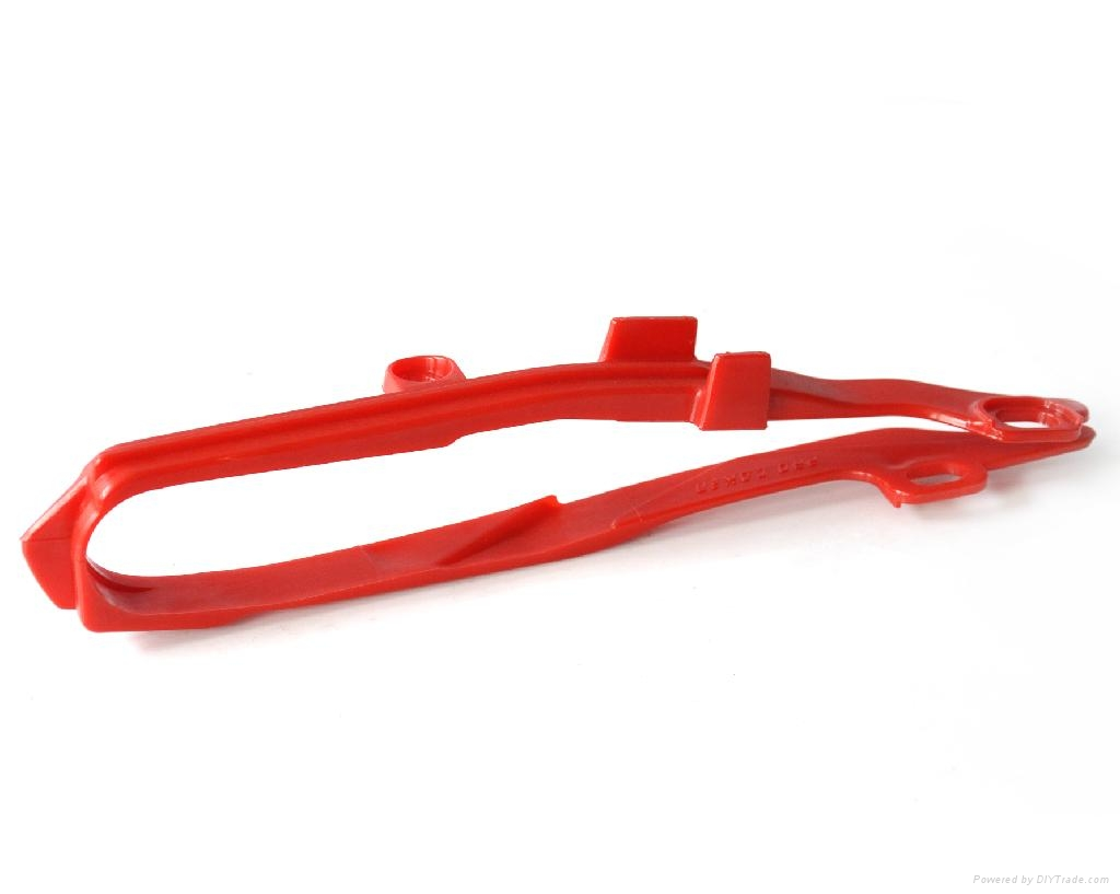 DIRT BIKE CHAIN GUIDE SLIDER CRF250 hond* RED 1