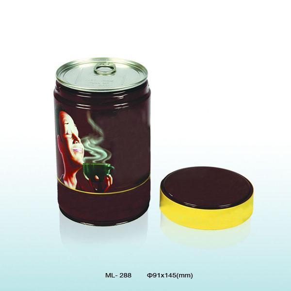 Coffee tin box 1