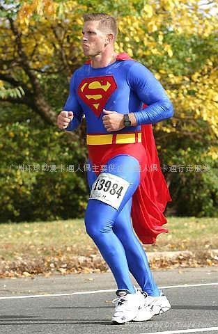 卡通人偶服装超人 1