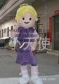 廣東卡通人偶行走服裝小天使