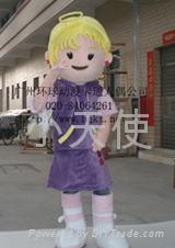 广东卡通人偶行走服装小天使