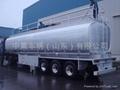 Aluminum Tanker semi-trailer