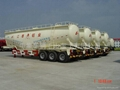 Bulk powder tank semi-trailer