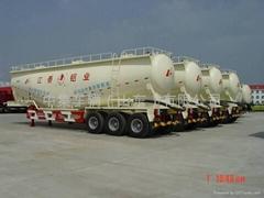 Bulk powder tank semi-trailer