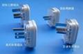 国标二极、二极带接地自配线插头(WSP-6/16/16A)