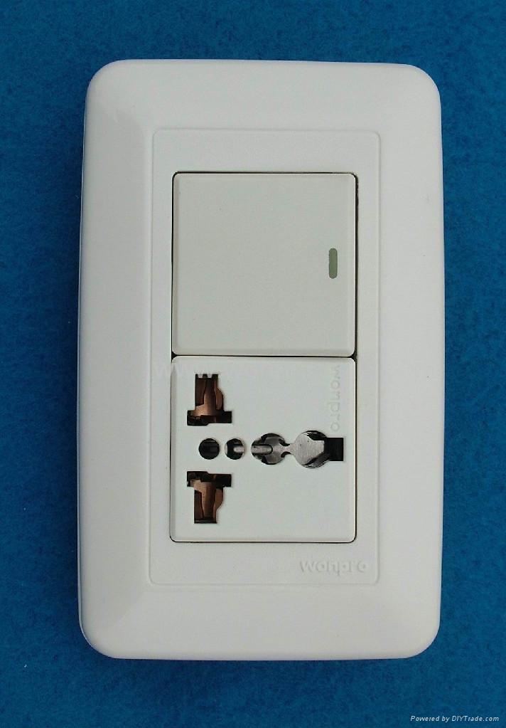 WF75开关+万用多用途插座系列 2