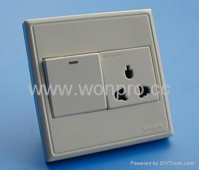WF86CN Switches+Universal socket series 5