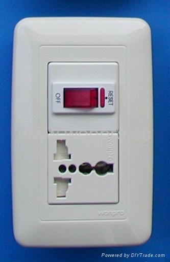 WF75开关+万用多用途插座系列 3