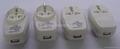 Euro type Universal Travel Adapter Kit w/ built-in USB charger(ASTGFDBU-P10vs) 3