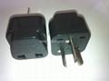 中澳洲式插头转中欧插座转换器(