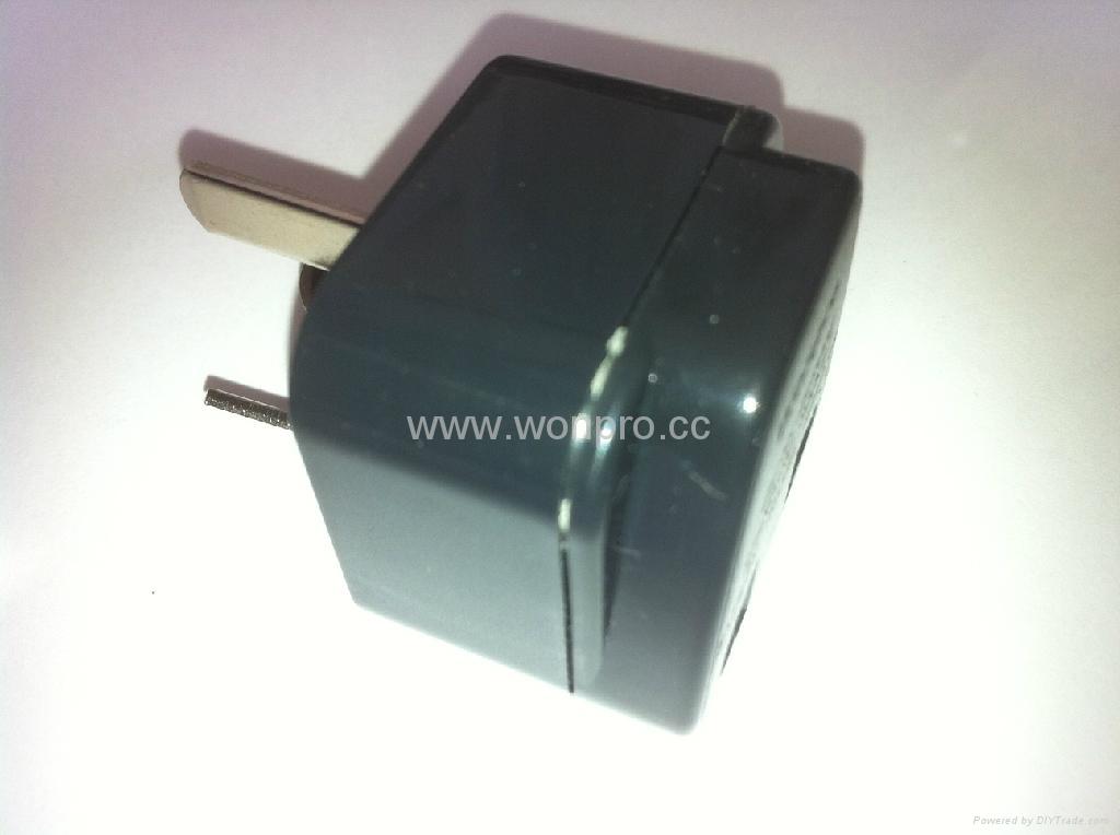 China (and old Australia) Plug Adapter (Grounded))(WA6B-16-BK) 3