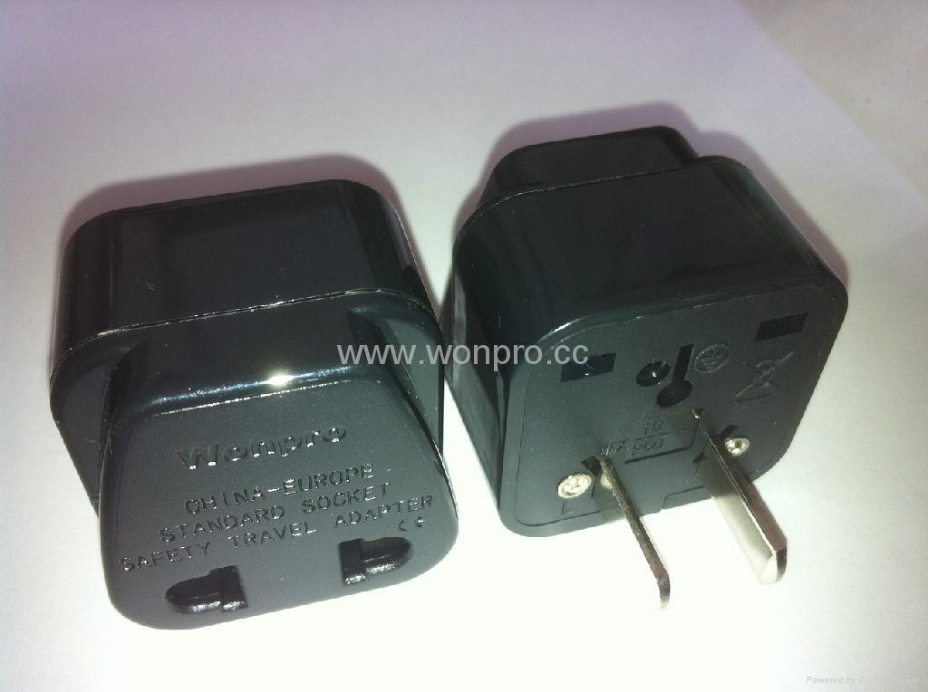 Japan, US Ungrounded Plug Adapter(WA6B-6-BK)