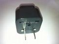 Japan, US Ungrounded Plug Adapter(WA6B-6-BK) 3