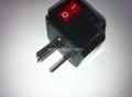 China (and old Australia) Plug Adapter (Grounded))(WSA7-16-BK)