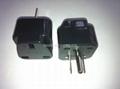 Japan US Ungrounded Plug Adapter(WA7-5-BK) 1