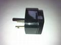 Japan US Ungrounded Plug Adapter(WA7-5-BK) 3