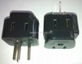 美标插座转换器(转成除美标插头的世界各种形式插头)