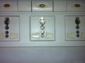 防雷型五位万用安全插座带五位分控开关转换器(排插)